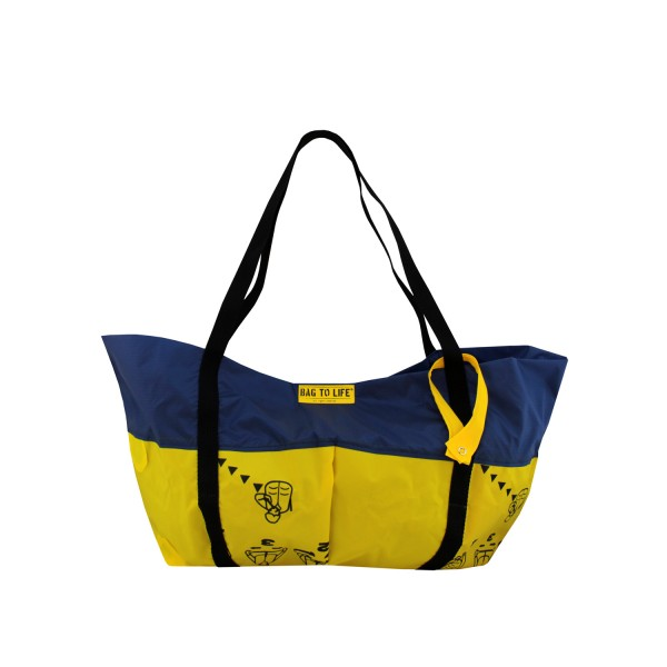 Strandtasche Airlie Beach Bag (blue)