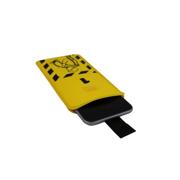 Check-in Smartphone Sleeve (geeignet für Smartphones mit Größe 14,03 cm x 7,05 cm)